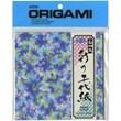 """Aitoh Origami Paper, 6"""" x 6"""", Irodorino Chiyogami"""