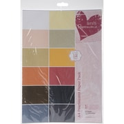 "Docrafts® Papermania Paper Pack, Pearlescent, 11 3/4"" x 8 1/4"""