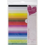 "Docrafts® Papermania Paper Pack, Coloured, 11 3/4"" x 8 1/4"""