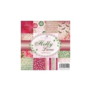 "Wild Rose Studio Ltd. Paper Pack, Holly Lane, 6"" x 6"""