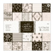 "Docrafts® Papermania Paper Pack, Midnight Blush, 12"" x 12"""