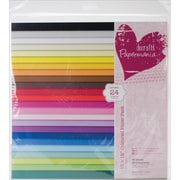 "Docrafts® Papermania Paper Pack, Coloured, 12"" x 12"""