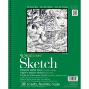 "Strathmore® 60 lbs. Recycled Sketch Paper Pad, 5 1/2"" x 8 1/2"""