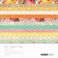 Kaisercraft Paper Pad, Tropical Punch, 6 1/2in. x 6 1/2in.