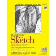 "Strathmore® 50 lbs. Mega Sketch Paper Pad, 9"" x 12"""
