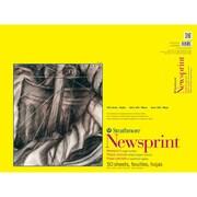 "Strathmore® 32 lbs. Rough Newsprint Paper Pad, 18"" x 24"""