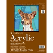 "Strathmore® Acrylics Heavyweight Painting Pad, 9"" x 12"""
