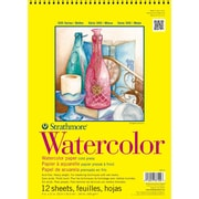 "Strathmore® 140 lbs. Cold Pressed Watercolor Paper Pad, 11"" x 15"""