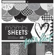 "Me & My Big Ideas Mambi Paper Pad, Graphic, 12"" x 12"""