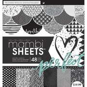 Me & My Big Ideas Mambi Paper Pad, Graphic, 12 x 12