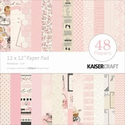 """Kaisercraft Paper Pad, Peekaboo Girl, 12"""" x 12"""""""