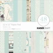 "Kaisercraft Paper Pad, Peekaboo Boy, 12"" x 12"""