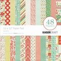Kaisercraft Paper Pad, Mistletoe, 12in. x 12in.