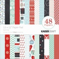Kaisercraft Paper Pad, North Pole, 12in. x 12in.