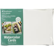 "Strathmore® Cold Pressed Watercolor Cards And Envelopes, 5"" x 7"""