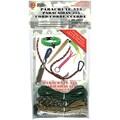 Pepperell 325 Super Value Parachute Cord Pack, Rainbow/Forest Camo/Army/Desert Camo