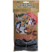 Pepperell 550 Super Value Parachute Cord Pack, Titanium/Black