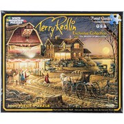 White Mountain Puzzles® 1000 Pieces Jigsaw Puzzle, Harvest Moon Ball