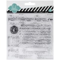 American Crafts™ Heidi Swapp Clear Stamp, 5.5in. x 5.5in., Music Notes