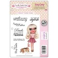 Crafter's Companion Scruffy Little Cat Cling Stamp Set, 5 1/2in. x 8 1/2in., Hayley
