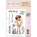 Crafter's Companion Scruffy Little Cat Cling Stamp Set, 5 1/2in. x 8 1/2in., Jessica