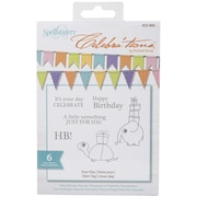 Spellbinders® Celebra'tions Stamps, 4 x 6, Your Day