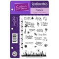 Crafter's Companion Die'sire Sentimentals EZMount Cling Stamp Set, 5 1/2in. x 8 1/2in., Nature