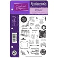 Crafter's Companion Die'sire Sentimentals EZMount Cling Stamp Set, 5 1/2in. x 8 1/2in., Ornate