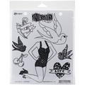 Ranger Dyan Reaveley's Dylusions Rubber Stamps, 8 1/2in. x 7in., Jay's Jollies