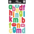 Me & My Big Ideas® mambiSticks™ Century Medium Bright Mini Prints Large Alphabet Stickers, Lowercase