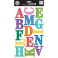 Me & My Big Ideas® mambiSticks™ Century Medium Bright Polka Dots Large Alphabet Stickers, Uppercase