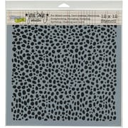 """Crafters Workshop Doodling Template, 12"""" x 12"""", Spotted"""