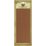 """Spellbinders® A Gilded Life Long Texture Plate For Jewllery Making, 3"""" x 7 1/2"""", Wrought Iron"""