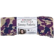 Coats Yarn Red Heart® Boutique Sassy Fabric Yarn, Fuchsia Camo
