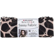 Coats Yarn Red Heart® Boutique Sassy Fabric Yarn, Giraffe