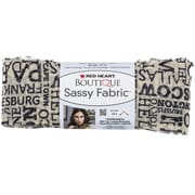 Coats Yarn Red Heart® Boutique Sassy Fabric Yarn, Newsprint