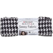 Coats Yarn Red Heart® Boutique Sassy Fabric Yarn, Houndstooth
