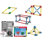 "K'NEX Plastic Elementary Math and Geometry Building Set 2.25"" x 12.25"""