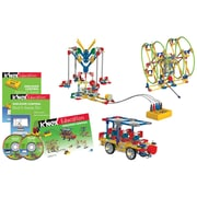 "K'NEX Plastic Education Discover Control Building Set 7.63"" x 13.81"""