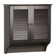 RiverRidge Home Products Ellsworth 23.82'' x 25'' Wall Mounted Cabinet; Espresso