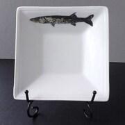 Kim Rody Creations Fish BarraCuda Square Condiment Server