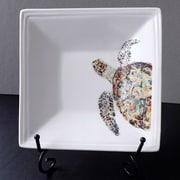 Kim Rody Creations Turtle Navigator Square Condiment Server