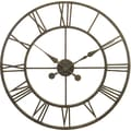 River City Clocks Oversized 30'' Skeleton Tower Wall Clock