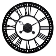 River City Clocks Oversized 38'' Skeleton Tower Wall Clock