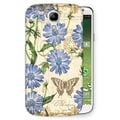 LANG® Tim Coffey Snap On Case For Samsung Galaxy S4, Blue Chicory