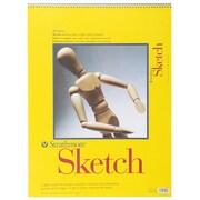 "Pro-Art Strathmore Spiral Sketch Book, 18"" x 24"""
