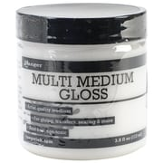 Ranger Multi Medium Paint Glue Ink, 3.8 oz. Jar, Gloss