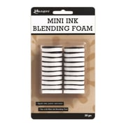 "Ranger Mini Ink Blending Replacement Foams, 1"" Round, White"