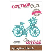 "CottageCutz® 3"" x 2.2"" Elites Die, Springtime Bicycle"