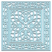 "Ecstasy Crafts Joy! 2 3/4"" & 4"" Crafts Cut & Emboss Die, Flower Square"